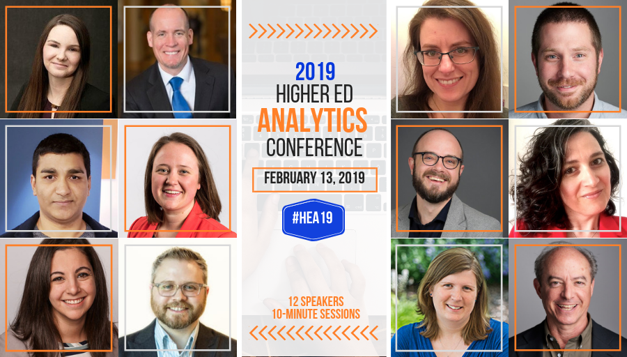 What's in the 2019 #HigherEd Analytics Conference for you? Find out with #HEA19 Preview Day!