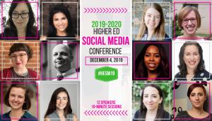 2019 Higher Ed Social Media Conference Big