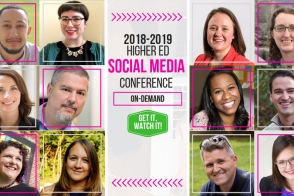 Higher Ed Social Media Conference on-demand
