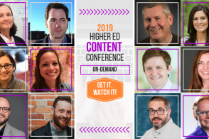 2019 Higher Ed Content Conference