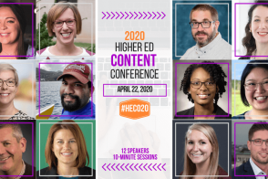 2020 Higher Ed Content Conference