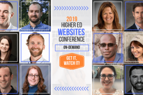 2019 Higher Ed Websites Conference