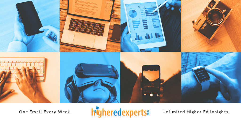 Higher Ed Experts Weekly Email Newsletter