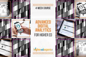 Advanced digital marketing analytics for higher ed