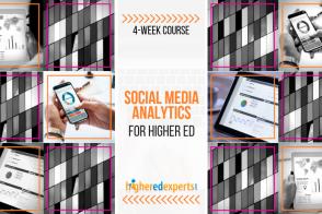 Higher Ed Social Media Analytics Course
