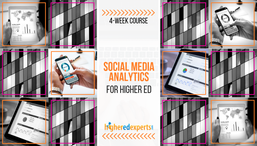 Social Media Analytics for Higher Ed Course