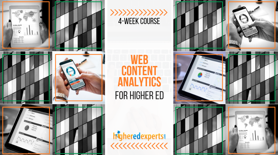 Higher ed web content analytics course
