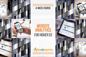 Higher Ed Website Analytics Course