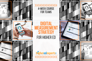 Higher Ed Digital Marketing Measurement Strategy