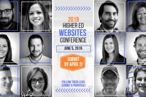 2019 Higher Ed Websites Conference