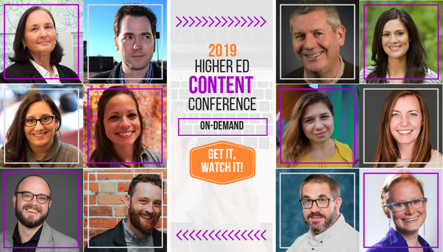What's in the 2019 #HigherEd Content Conference for you? Find out with #HECO19 Preview Day!