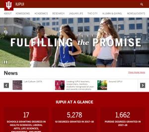 Iupui Website