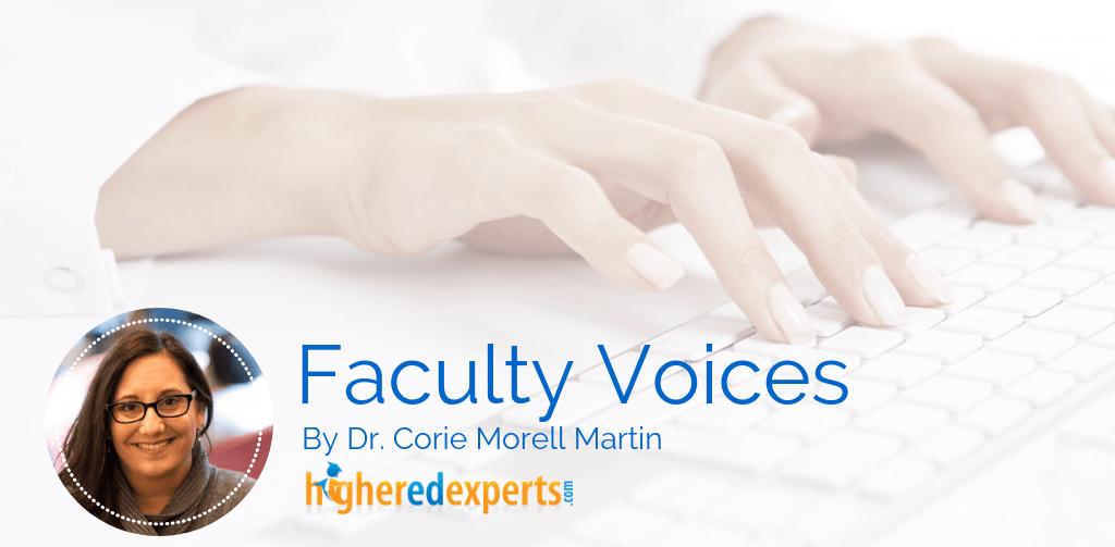 Higher Ed Professor Corie Morell Martin