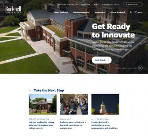 Bucknell University Website - 2019