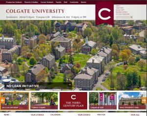 Colgate Old Website