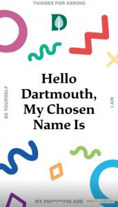 Dartmouth Pronouns