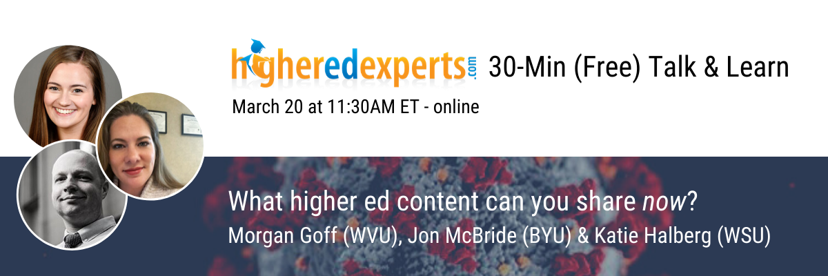 30 Min Talk What Highered Content2