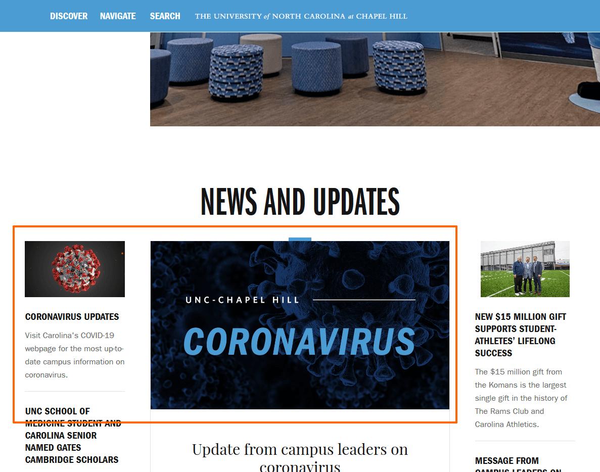 Coronavirus Unc Chapelhill